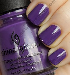 grape pop / China Glaze Up & Away Spring 2010