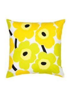 Marimekko Unikko cushion cover