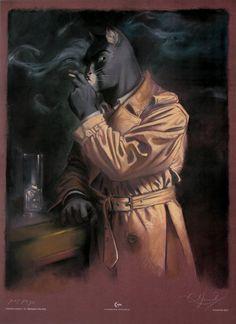 Juanjo Guarnido signée : Blacksad in the dark