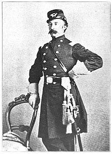 Colonel Oscar Malmborg (1820-1880) This officer commanded the 55th Illinois Infantry. At Shiloh, He formed his regiment into a hollow square to repel rumored black horse cavalry. The only documented time that infantry was used in that european fashion. The tactic was used at Waterloo in 1815.