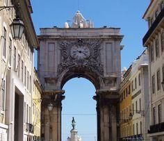 Rua Augusta Lisboa,Portugal.