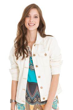 Jaqueta recortes cru | Dress to