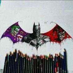 Batman, Joker and Harley Quinn ❤❤❤