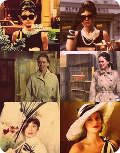 Holly Golightly and Blair Waldorf.