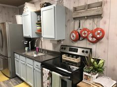 Custom Container Home - Tiny House for Sale in null, Texas - Tiny House Listings Storage Container Homes, Shipping Container Homes, Storage Containers, Shipping Containers, Container Houses, Autocad, Kitchen Refrigerator, Tiny House Listings, Tiny Houses For Sale