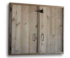 Dart Board Cabinet. $300.00, via Etsy.