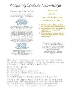 Acquiring Spiritual Knowledge | Smashbook Seminary