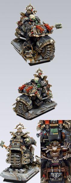 Ravenwing biker reference