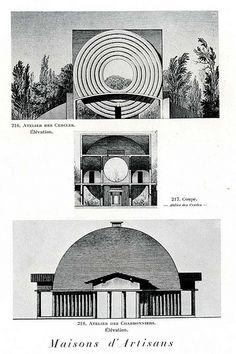 Maison pour Artisans_Claude-Nicolas Ledoux 1736-1806