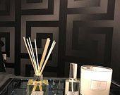 Etsy - Checkout - Shipping Black Wallpaper Bedroom, Wallpaper Off White, 3d Wallpaper Roll, Washable Wallpaper, 3d Wallpaper Mural, Versace Wallpaper, Versace Home, Vine Design, Modern Bedroom Design