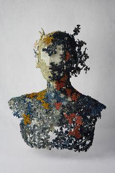 Tania Mello, textile art open category finalist