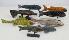 Authentic Fish Decoys