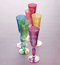 Elegant and Festive Stemware