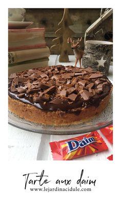 Tarte aux daims, encore meilleure que celle d'Ikea ! Tarte Au Daim, Ikea, Tiramisu, Sweet Pie, Chocolate, Tarts, Treats, Magic, Ikea Co