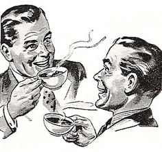 ... coffee guys by x-ray delta one, via Flickr http://www.pinterest.com/martinebiboune/th%C3%A9-ou-caf%C3%A9-chocolat/