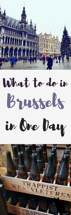 Belgium is probably best known for its beer, waffles, pomme frites and chocolate. Brussels is a great spot to get your fill of these wonderful things. The city is great for a day trip and our day mainly comprised of trying to fit in all these delights but mostly the beer! So it's a bit of a boozy day out. #Brussels #Belgium #Europe #Daytrip