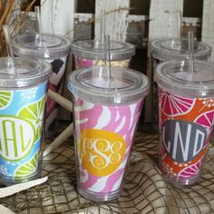 Personalized Tumbler Cup! perfect for spring/summer