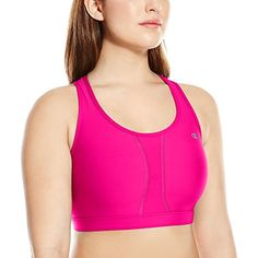 Champion Women's Plus-Size Vented Compression Sports Bra *** Want to know more, click on the image.