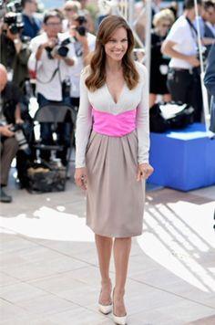 Hillary Swank Bottega Veneta Festival di Cannes 2015