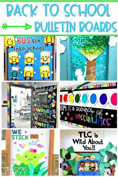 15 Back to School Bulletin Board Ideas! Here are some of my favorite bulletin board ideas I found that are perfect for back to school. #backtoschool #bulletinboards #backtoschoolideas