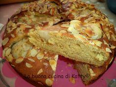 La buona cucina di Katty: Torta integrale di ricotta e mandorle con pere