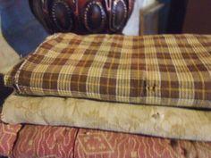 homespun windowpane fabric
