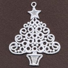 FSL Filigree Christmas 10 - 4x4 | What's New | Machine Embroidery Designs | SWAKembroidery.com Ace Points Embroidery