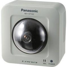 Panasonic WVST162 H.264 Pan-Tilt Network Camera for Surveillance Systems  http://www.lookatcamera.com/panasonic-wvst162-h-264-pan-tilt-network-camera-for-surveillance-systems/