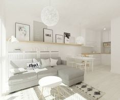 Impressive Scandinavian Living Room Designs Ideas 38