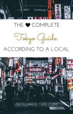 The Complete Tokyo Guide: According to a Local; we asked a local for all her best tips for Tokyo, Japan. You'll have plenty of things to do as you eat, see, and adventure your way through the city filled with culture like a local! Enjoy the best food, the best hidden gems, and the best joints that the locals frequent.
