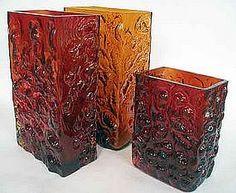 Art Glass Vases, Nanny Still, Lasi Riihimaki
