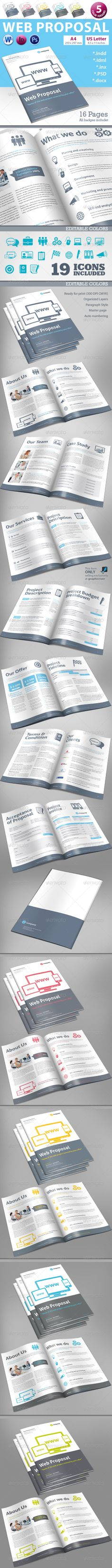 Web Proposal Proposals and Stationery