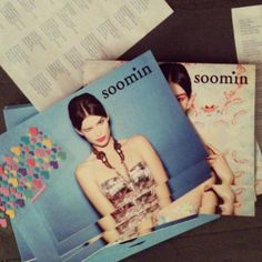 Soomin 2014 look books photographed by Masha Mel