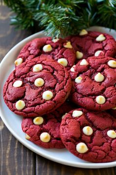 These easy red velvet cookies start with a cake mix and are loaded with white chocolate chips. A simple yet impressive cookie that yields fabulous results!