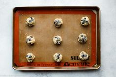 These blueberry muffin cookies are deliciously addictive! They have soft centers, plenty of juicy blueberries, crumbly edges, and are topped with a delicious lemon glaze. Blueberry Cookies, Blueberry Scones, Blueberry Recipes, Rice Krispie Treats, Rice Krispies, Lemon Ricotta Cookies, Simple Muffin Recipe, Sallys Baking Addiction, Biscuits