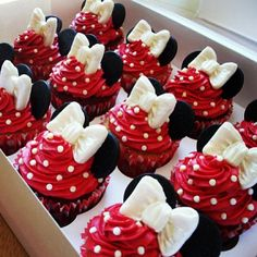 Minnie Cupcakes too cute