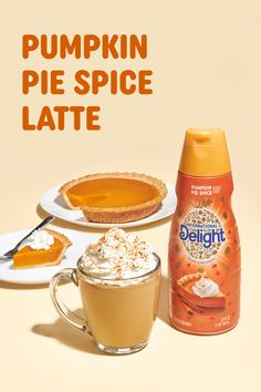 Never miss another Pumpkin Spice Latte coffee run. Because you can make a delicious one at home with this easy recipe starring International Delight Pumpkin Pie Spice coffee creamer. Combine milk and creamer in large mug. Microwave for 1-2 minutes or until hot. Whisk in ½ Tbsp caramel sauce and coffee. Top with whipped cream, caramel sauce and/or pumpkin pie spice if desired. Pumpkin Spice Creamer, Pumpkin Spiced Latte Recipe, Pumpkin Spice Coffee, Spiced Coffee, Coffee Creamer, Pie Spice Recipe, Cinnamon Tea, Coffee Recipes, Copycat Recipes