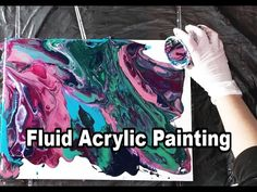 Fluid Painting - Experiment With 4 Brands - YouTube