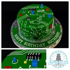 Motherboard Cake # Motherboard # Decorate Cake Motherboard cake Motherboard cake 0 Source by Electronics Mini Projects, Sony Electronics, Electronics Basics, Electronics Storage, Electronics Components, Engineering Cake, Engineering Projects, Engineering Technology, Electronic Engineering