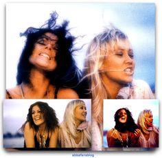 "Today in 1978 Abba filmed the video for their latest single ""Summer Night City"".. #Abba #Agnetha #Frida http://abbafansblog.blogspot.co.uk/2017/08/21st-august-1978.html"
