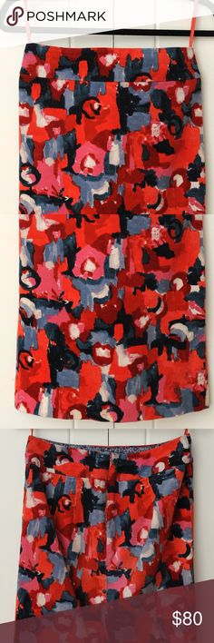ANTHROPOLOGIE Red Pencil  Skirt Red Pencil  Skirt.  ⭐Great condition. ⭐No trade. ⭐Price firm. ⭐Shipping is same day or next day.  Color depend of the screen of your 📱/ 💻 Take advantage  of 🌟10 % when you bundle two or more items.💝👗🛍️  Thank you for visiting my closet💓 Anthropologie Skirts Pencil