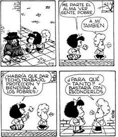 Pobre pobre Mafalda Comic, Mafalda Quotes, Vintage Cartoons, Lucky Luke, Humor Grafico, Amazing Adventures, Funny Comics, Comic Strips, Hilarious