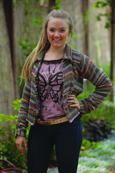 Cotton Knit short jacket - Jayli Imports, Inc.