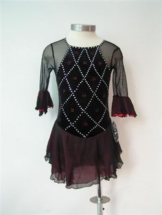 Nice custom Figure skating Competition dress 5067