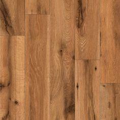 Shop allen + roth 5-in W x 50-13/16-in L Lodge Oak Laminate Flooring at Lowes.com