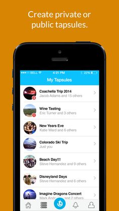 Tapsule Lets You Create Time Capsules Of Photos, Video And Text On Your iPhone | TechCrunch #listview