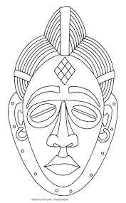 Resultado de imagem para desenhos africanos para colorir