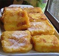 Leche frita al estilo Aceuchal - Cocina extremeña. Gastronomía de Extremadura - RedExtremadura.com