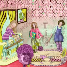 """""""THE DIARY FILES 2017"""" - April pack""""by Berna's Playground available @ Digital Scrapbooking Studio https://www.digitalscrapbookingstudio.com/digital-art/bundled-deals/the-diary-files-april-pack/"""
