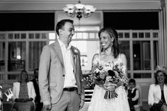 Just married! Marika and Sean's North London wedding with documentary wedding photography by Babb Photo